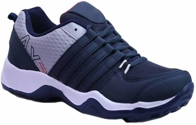 Chevit 445 Sports Shoes (Walking & Gym Shoes) Running Shoes For Men(White, Blue)