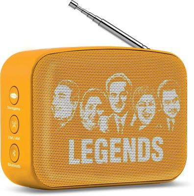Saregama Carvaan Mini 2.0 5 W Bluetooth Speaker(Saffron Orange, Stereo Channel)