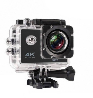 Pithadai 4K S2 Series WIFI 4K 2'' Ultra HD 1080P Sport WiFi Cam Action Camera DV Video Recorder 16MP Go Pro Sports and Action Camera(Black 12 MP) 1