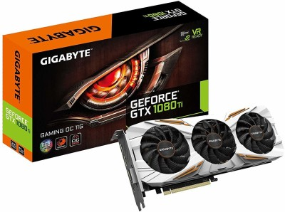 Gigabyte AMD/ATI Geforce Gtx 1080 Ti Gaming Oc 11GB 11 GB GDDR5X Graphics Card