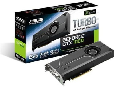 Asus NVIDIA Turbo GTX1080 8GB 8 GB GDDR5X Graphics Card