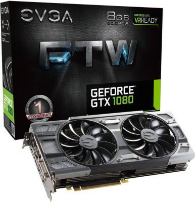 EVGA NVIDIA GeForce GTX 1080 8 GB GDDR5X Graphics Card