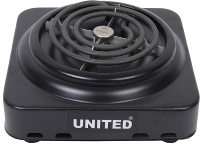 United induc 1000 Radiant Cooktop(Black, Jog Dial)
