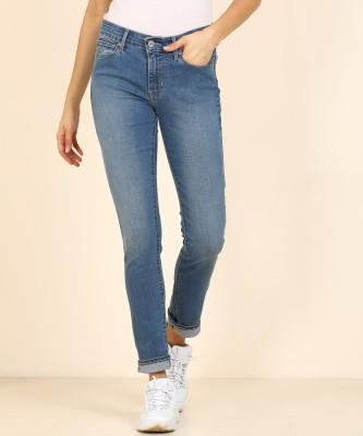 Tokyo Talkies Super Skinny Women Blue Jeans