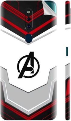 Snooky 1360L-SknOpoF11pr Avengers Suit Oppo F11 Pro Mobile Skin(Multicolor)