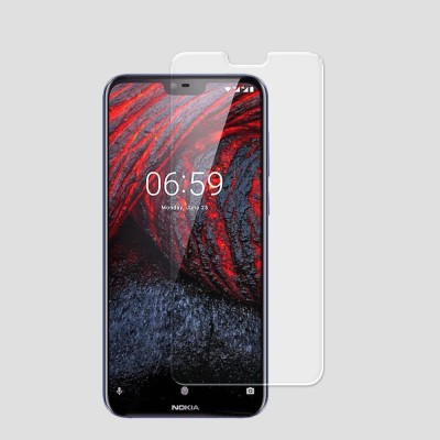 BuyGiri Impossible Screen Guard for Nokia 6.1 Plus(Pack of 1)