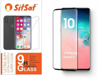 SITSAT Tempered Glass Guard for SAMSUNG GALAXY S10 PLUS(Pack of 1)