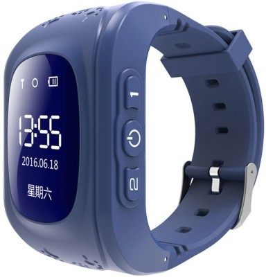 TSV Q50 Kids SOS Safe Call watch for Kids Smartwatch(Blue Strap Free)