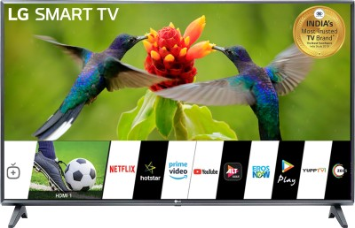 LG All-in-One 108cm (43 inch) Full HD LED Smart TV 2019 Edition(43LM5600PTC)