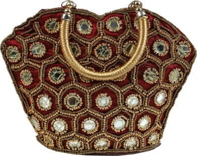 Fancy Walas Women Maroon Hand-held Bag