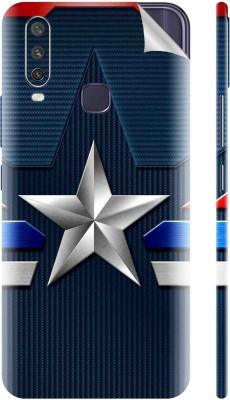 Snooky Vivo Y12 Mobile Skin(Blue)