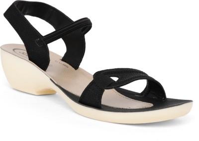 Paragon Women Black Heels