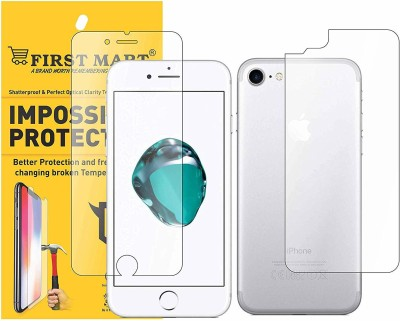 FIRST MART Front and Back Screen Guard for Apple iPhone 7, Apple iPhone 8(Pack of 1)