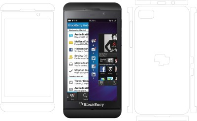 MudShi Front and Back Screen Guard for Blackberry Z10(Pack of 1)