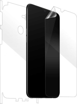 MudShi Front and Back Screen Guard for Oppo F9(Pack of 1)