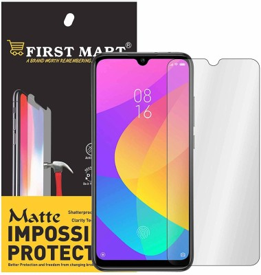 FIRST MART Impossible Screen Guard for Xiaomi Redmi A3, Mi A3(Pack of 1)