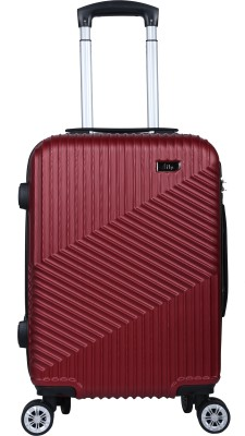 Fly Phantom 55 Marsala Red Cabin Luggage   21 inch