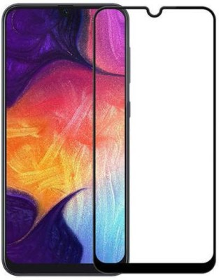 Richuzers Edge To Edge Tempered Glass for vivo Y90(Pack of 1)