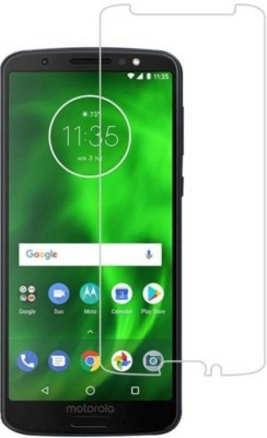 Case Creation Tempered Glass Guard for Motorola Moto G6(Pack of 1)