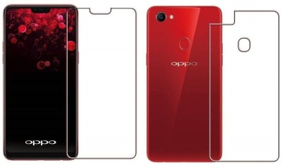 COZR Front and Back Screen Guard for OPPO A5, Oppo A3s, Realme 2, Realme C1(Pack of 2)