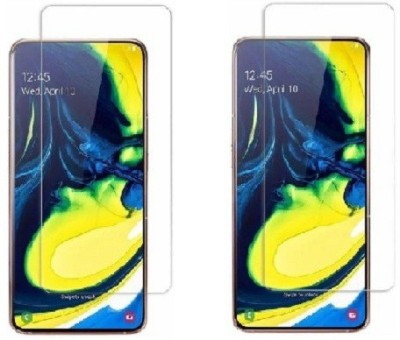 Parv Accessories Tempered Glass Guard for Samsung A80(Pack of 1)