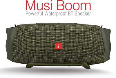 iBall Musi Boom 30 W Bluetooth Speaker(Green, Stereo Channel)