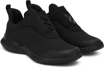 ADIDAS Boys   Girls Velcro Running Shoes Black ADIDAS Sports Shoes