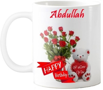 Nakshasutra Abdullah Happpy Birthday My Love 01 Ceramic Mug(330 ml)