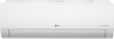 LG 1.5 Ton 3 Star Hot and Cold Split Dual Inverter AC - White(LS-H18VNXD, Copper Condenser)