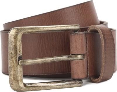 Provogue Men Brown Genuine Leather Belt