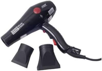 Choaba Professional 2800 Hair Dryer(2000 W, Black)
