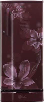 LG 188 L Direct Cool Single Door 3 Star  2020  Refrigerator Scarlet Orchid, GL D191KSOX