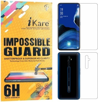 iKare Front and Back Screen Guard for OPPO Reno 2z(Pack of 2)