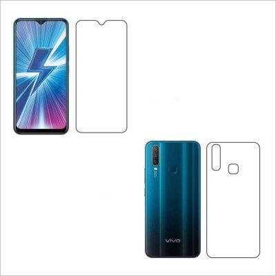Khushal Front and Back Screen Guard for Vivo Y17(Pack of 2)