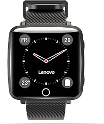 Lenovo Carme Black Smartwatch(Black Strap Regular)
