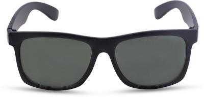 Fastrack Wayfarer Sunglasses(For Men & Women, Green)