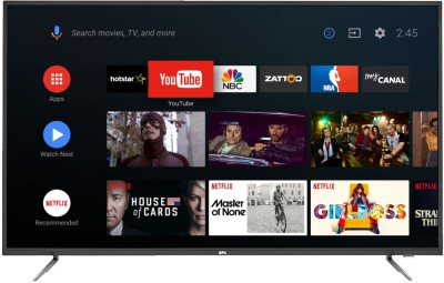 BPL 139cm (55 inch) Ultra HD (4K) LED Smart Android TV  with Android(T55AU26A)