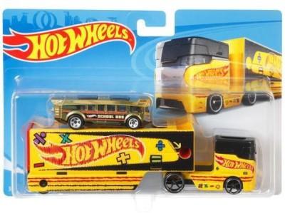 Hot Wheels Super Rigs Asst Multicolor Hot Wheels Push   Pull Along