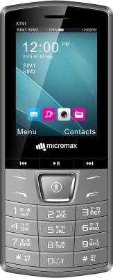 Micromax X741(Grey)