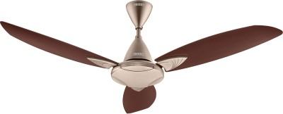 Usha Bloom Primrose 1250 mm 3 Blade Ceiling Fan(Sparkle Golden, Brown, Pack of 1)