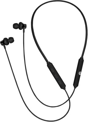 Motorola Verve Rap 250 Flexible neckband with Google Assistant enabled Bluetooth Headset(Black, In the Ear)
