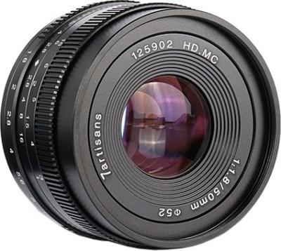7Artisans 50mm f1.8 lensfor Canon  Lens(Black, 50)
