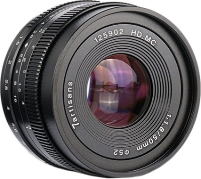7Artisans 50mm f1.8 lensfor Fujifilm  Lens(Black, 50)