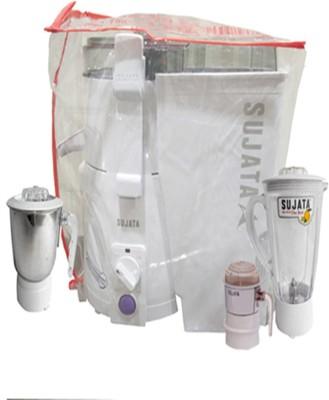 SUJATA JMG+CH+P 900 Juicer Mixer Grinder(White, 3 Jars)