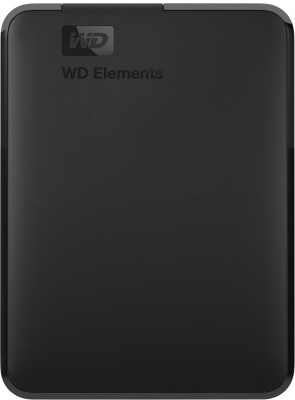 WD Elements 3 TB External Hard Disk Drive(Black)