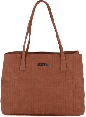 Caprese Women Tan Satchel