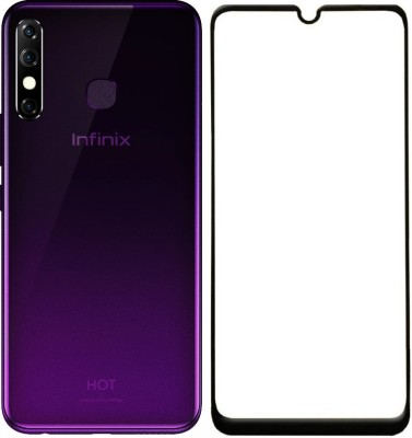 Cell-loid Edge To Edge Tempered Glass for Infinix Hot 8(Pack of 1)