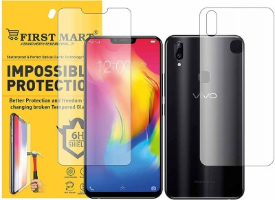 FIRST MART Front and Back Screen Guard for Vivo Y83 Pro(Pack of 1)