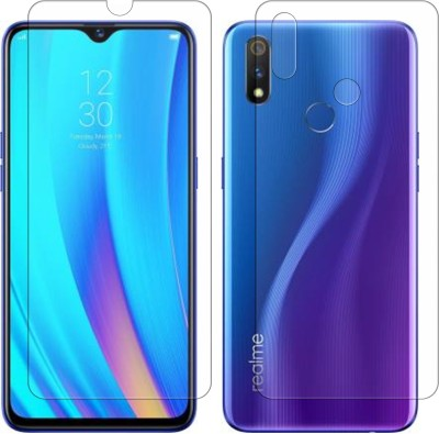 Yoox Front and Back Screen Guard for Oppo F9, OPPO F9 Pro, Realme 2 Pro, Realme U1, Realme 3 Pro(Pack of 2)