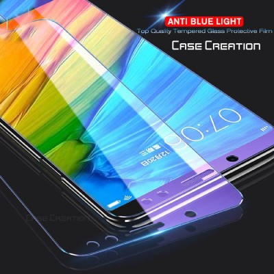 Case Creation Tempered Glass Guard for Vivo Y15 (2019) Tempered HD screen Scratch Protector -Blocks Excessive Harmful Blue Light(Pack of 1)